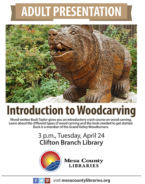 Introduction to Woodcarving - Clifton Branch