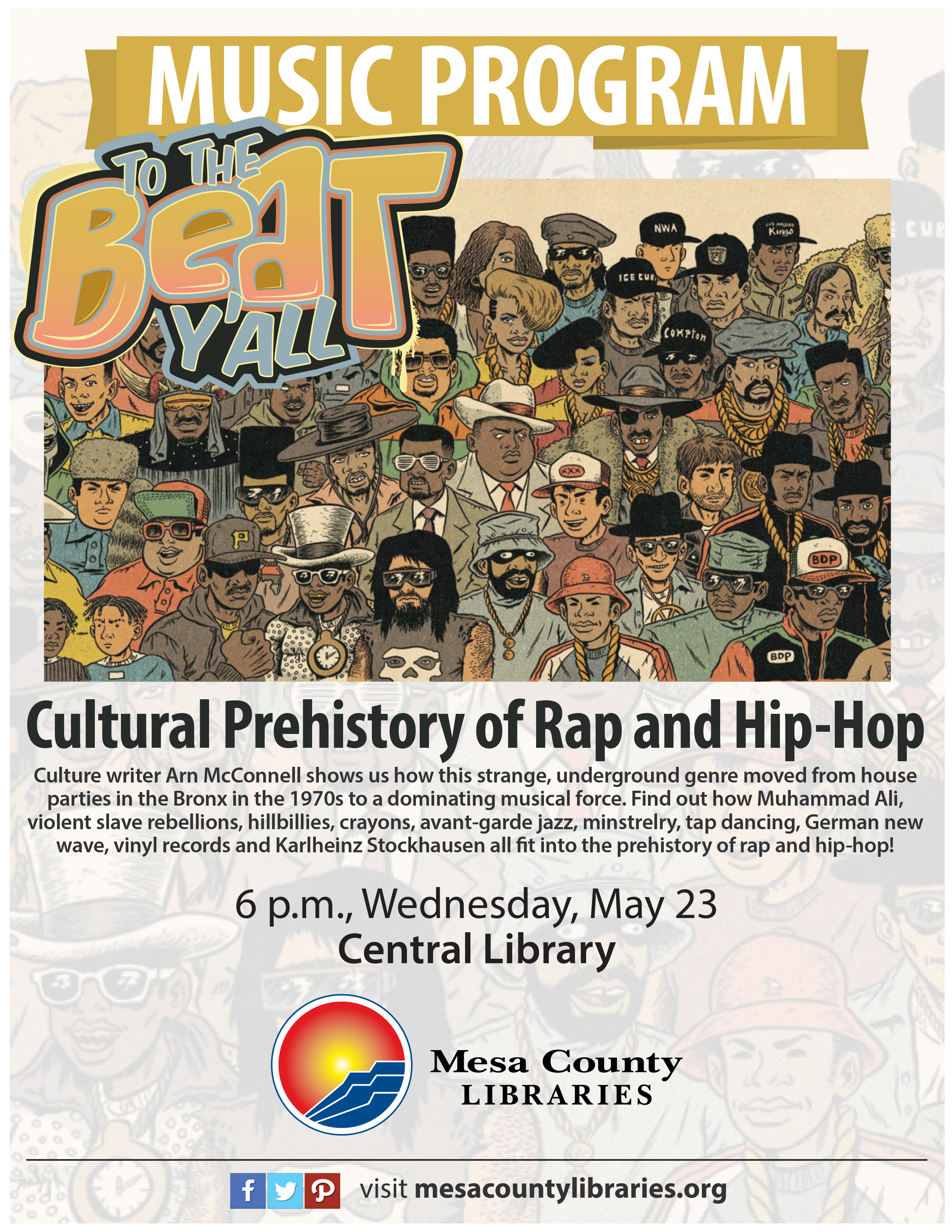 To the Beat, Y'all: A Cultural Prehistory of Rap and Hip-Hop