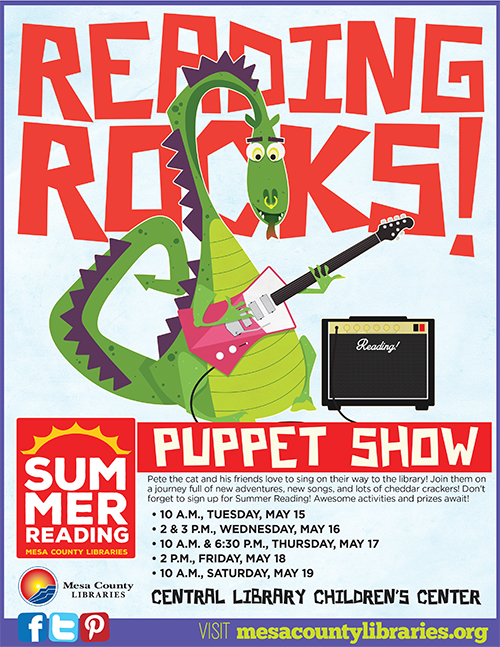 Reading Rocks! Summer Reading Puppet Show