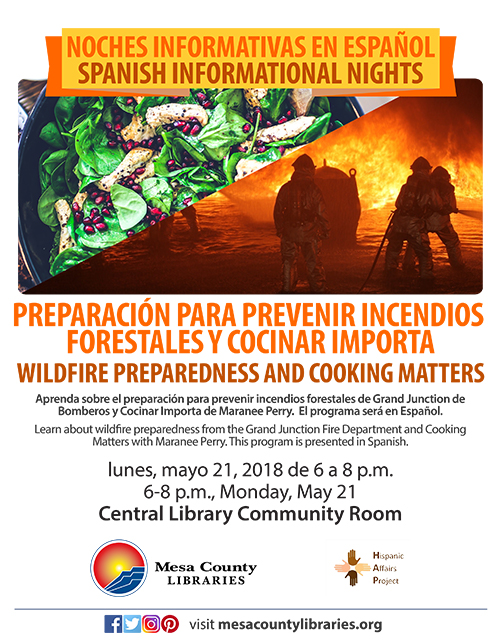 Noches Informativas en Español | Spanish Information Nights - Grand Junction Parks and Recreation and CPR Training