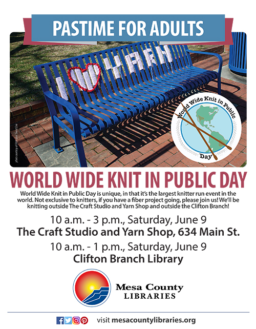 World Wide Knit in Public Day - The Craft Studio