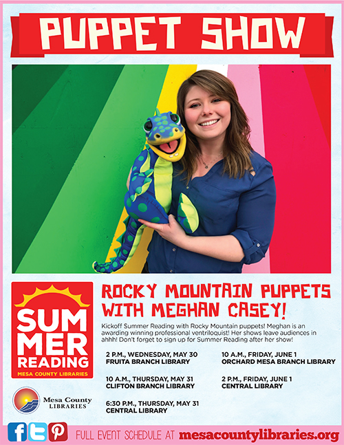 Rocky Mountain Puppets, Meghan Casey - Summer Entertainment Series