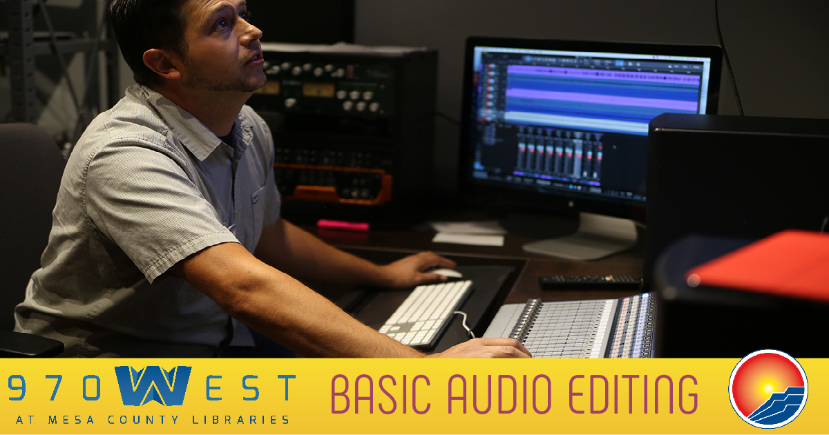 Basic Audio Editing (Audio Class 3 of 4) - 970West Studio