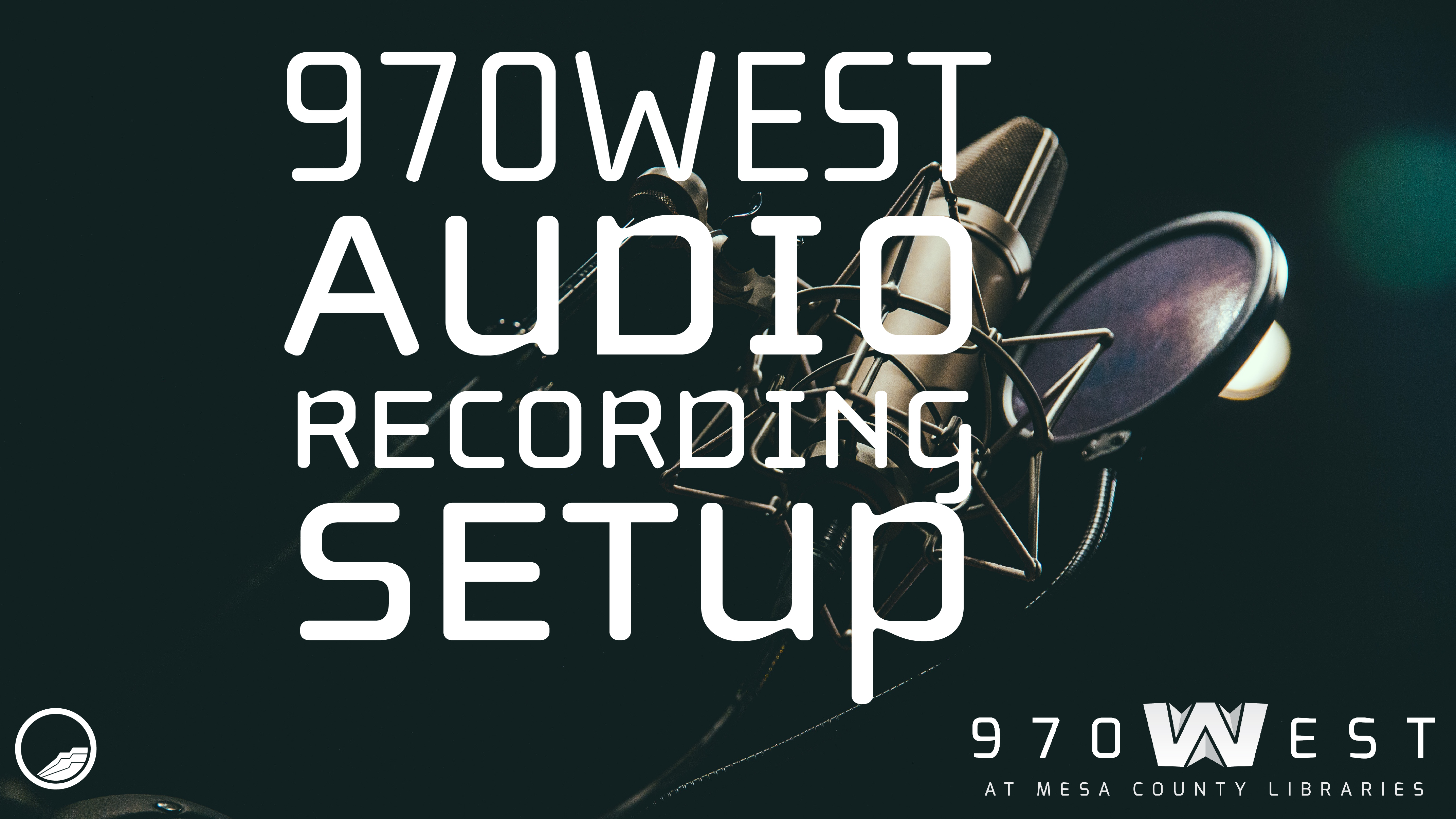 970West Audio Recording Setup (Audio class 2 of 4)