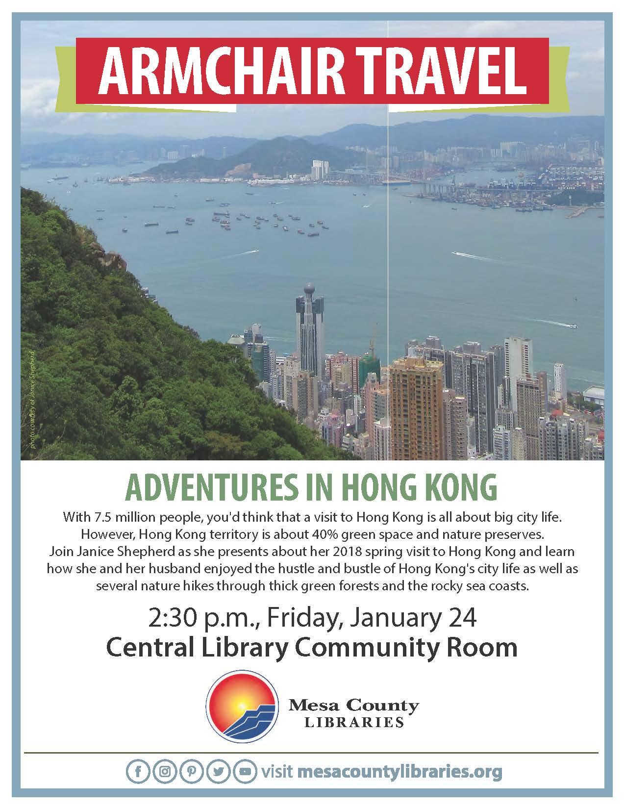 Armchair Travel: Adventures in Hong Kong
