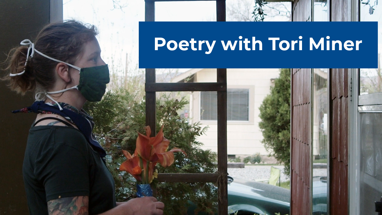 VIRTUAL Adult Programming - Poetry with Tori Miner