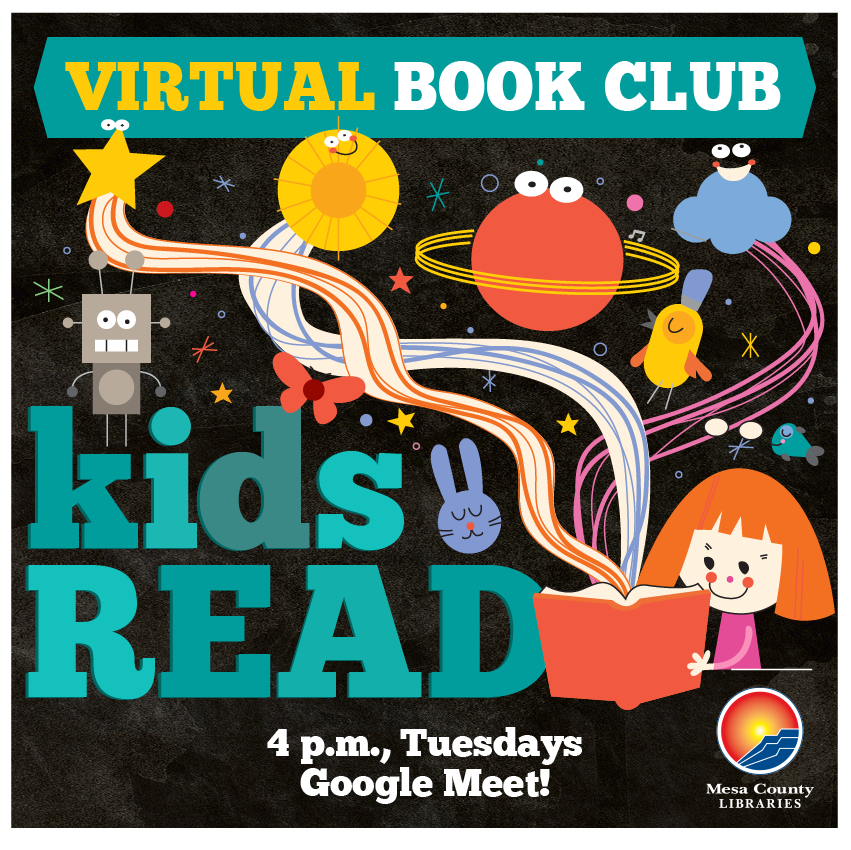 VIRTUAL Kids Read! Choose your own book!