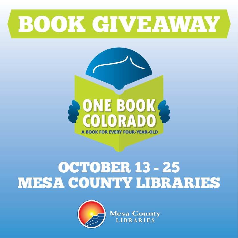 One Book Colorado Book Giveaway and StoryWalk® - A Book For Every Four-Year-Old