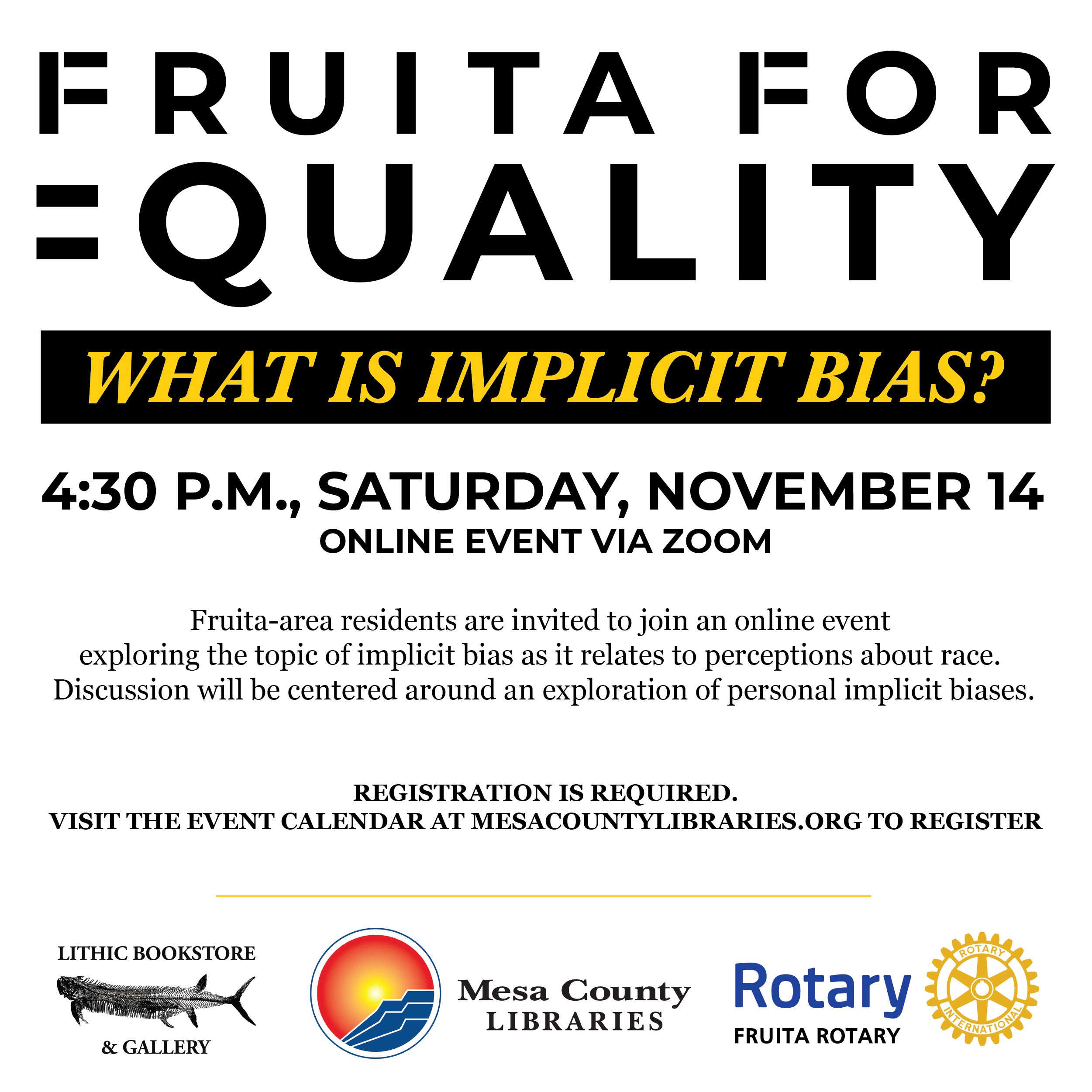 Fruita for Equality - What is Implicit Bias?