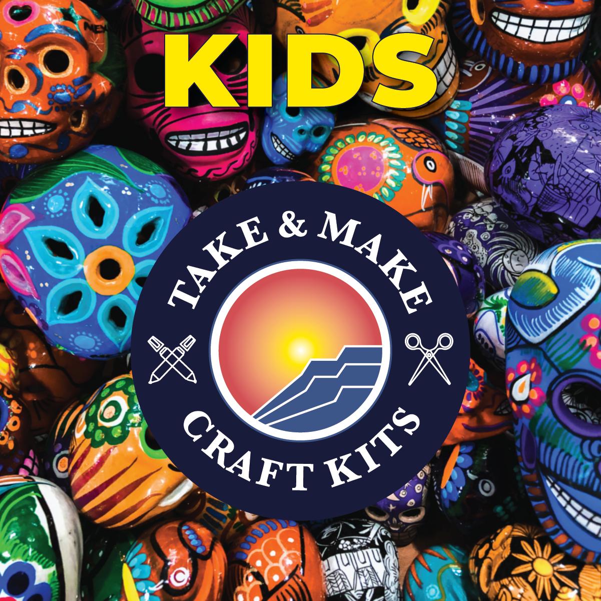 Kids Take and Make: Foam Sugar Skull