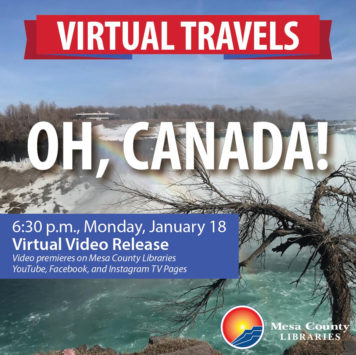 Virtual Travels – Oh, Canada!