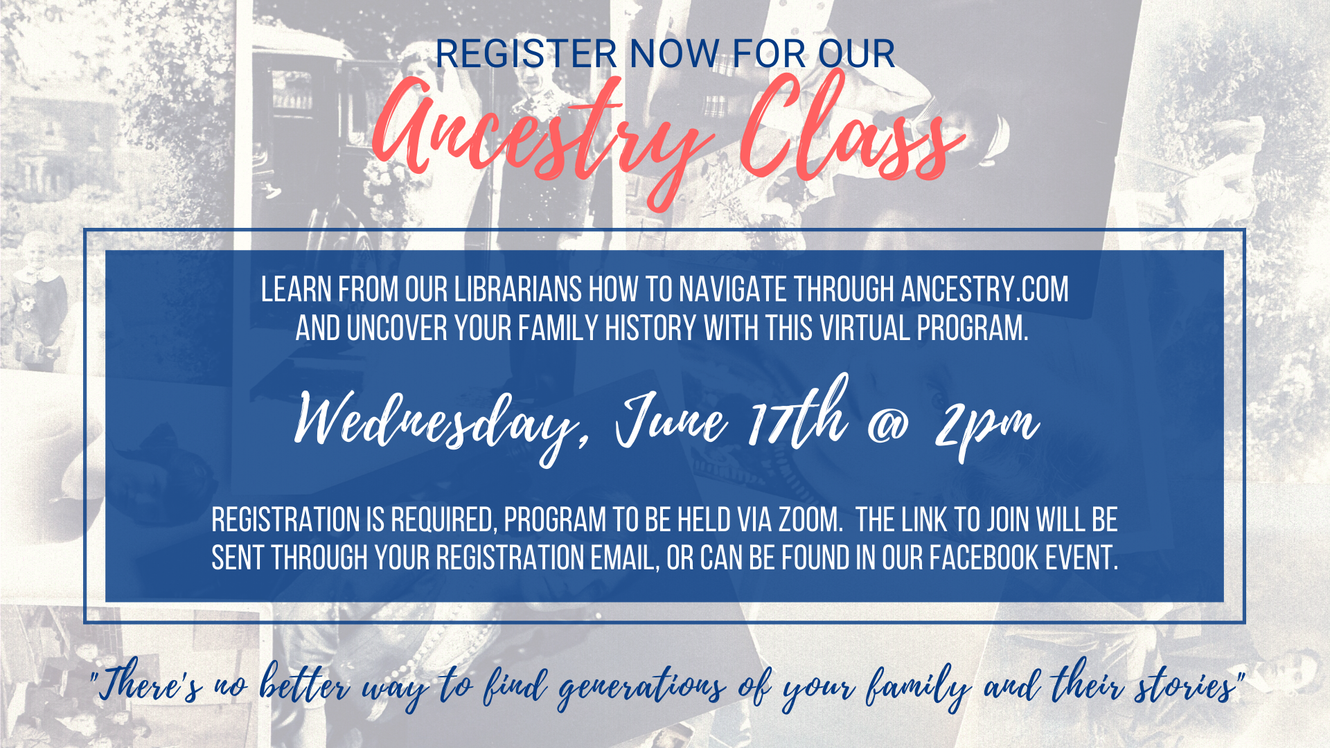 Ancestry Library Edition Class