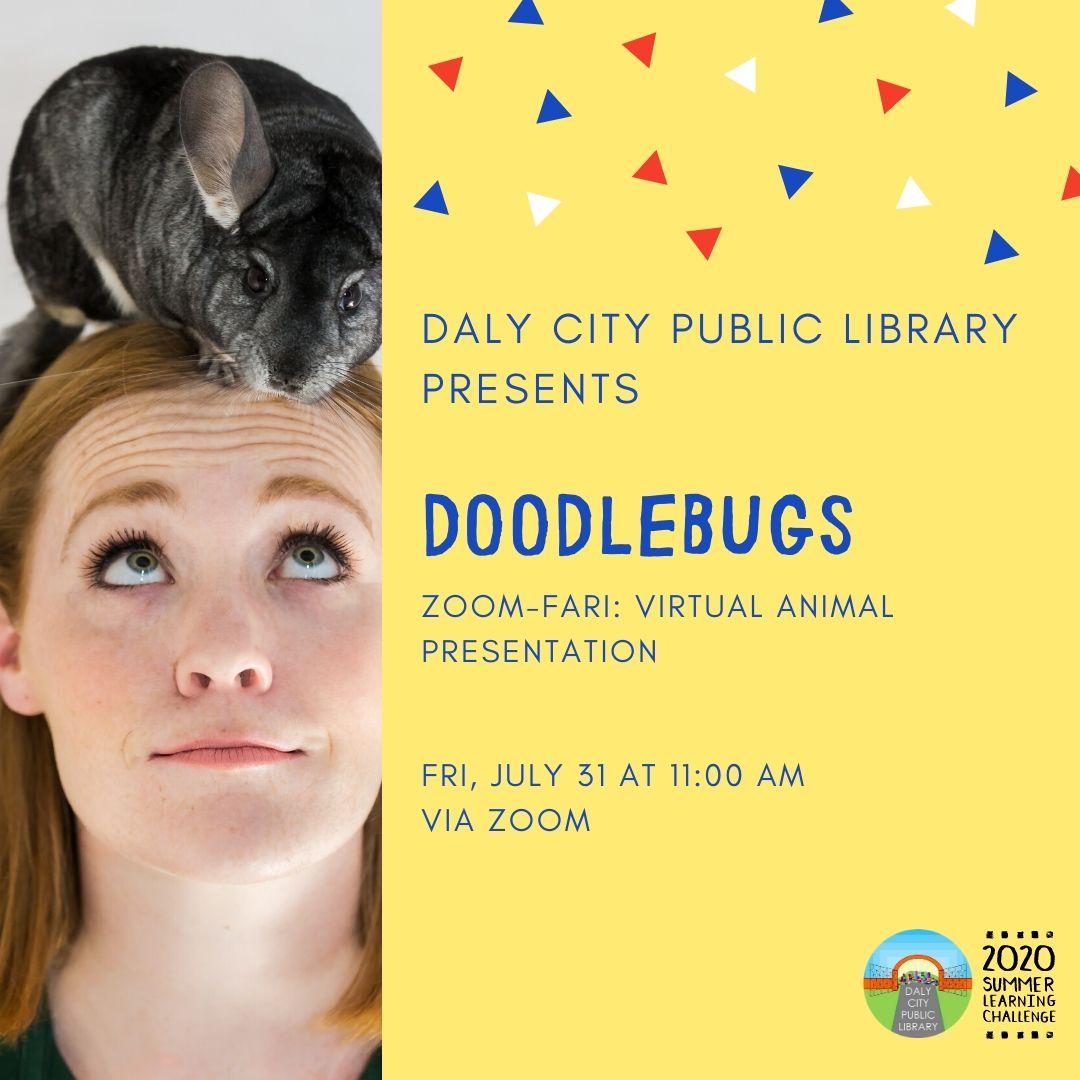 Doodlebugs: ZOOM-fari: Virtual Animal Presentation