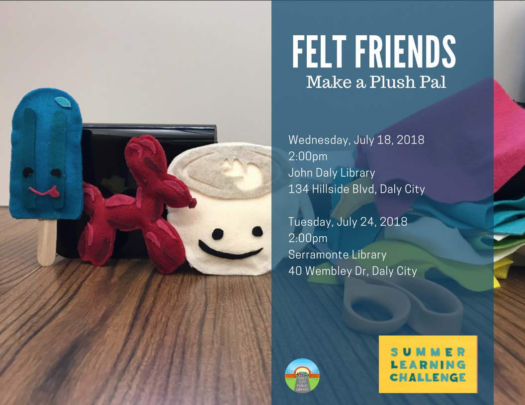 Felt Friends: Make a Plush Pal