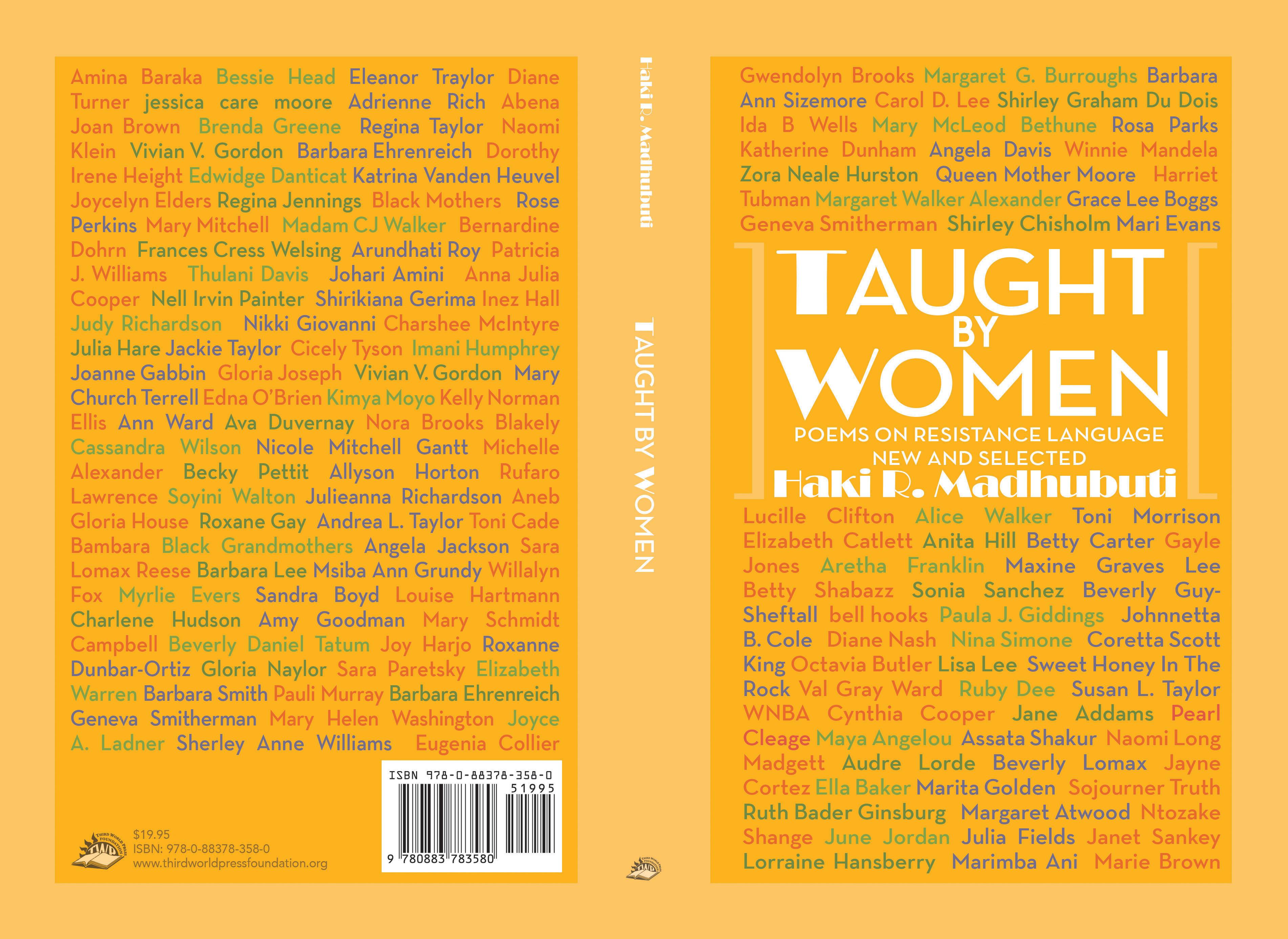 "Author Talk: Haki Madhubuti | ""Taught By Women"""