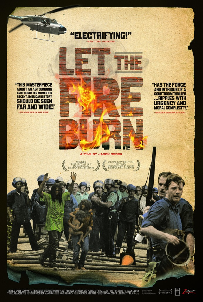 Let the Fire Burn! A Screening and Discussion with Director Jason Osder