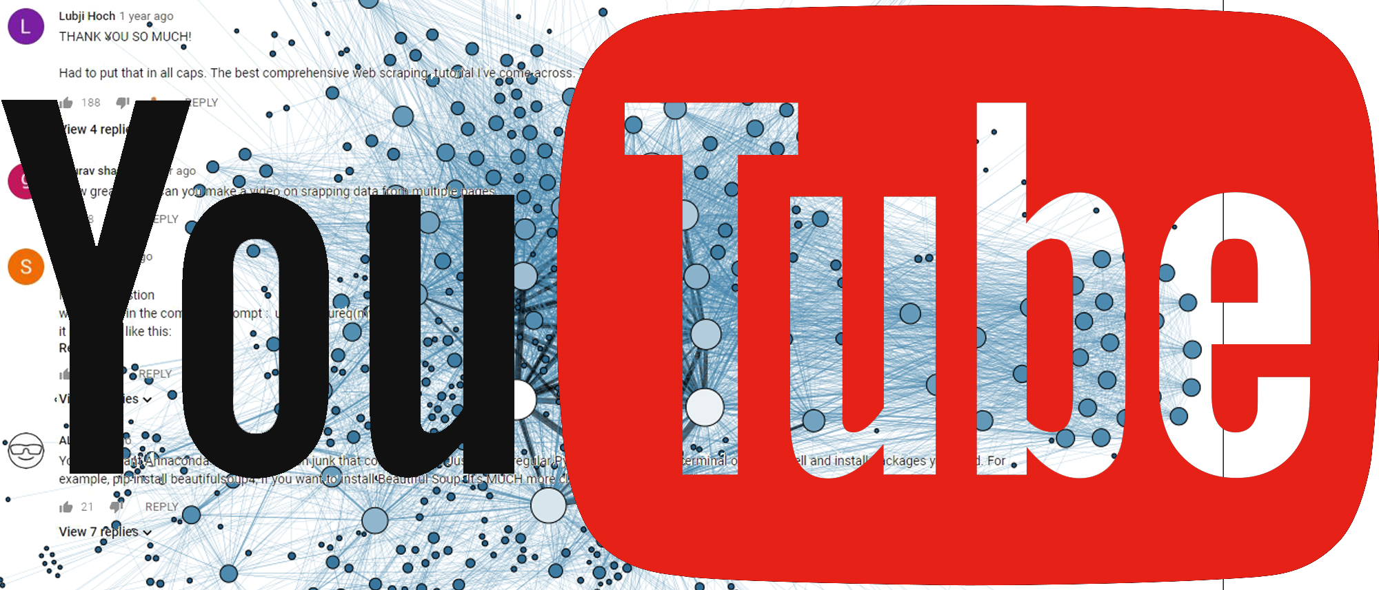 Webscraping Youtube
