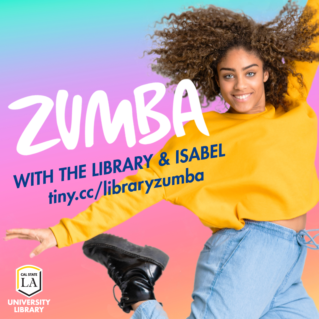 Zumba Online with the Library and Isabel
