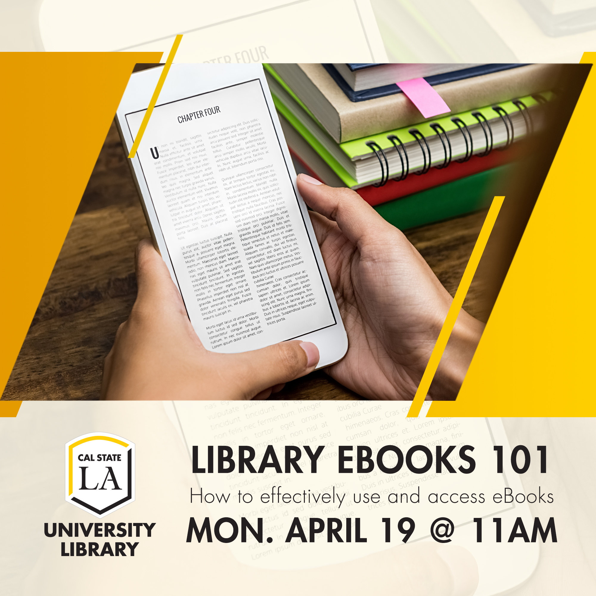 Library eBooks 101: How to Effectively Use and Access eBooks