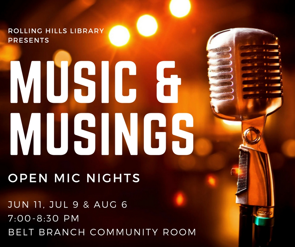 Music and Musings Open Mic
