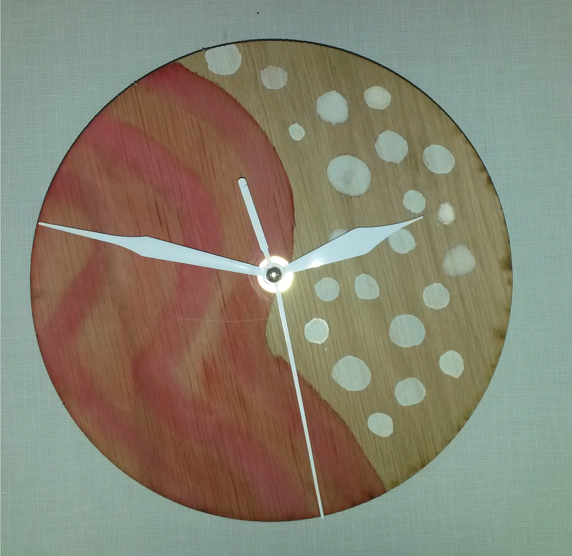 DIY Discovery: Watercolor Painted Clock