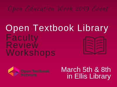 Open Textbook Library Review Workshop for Faculty