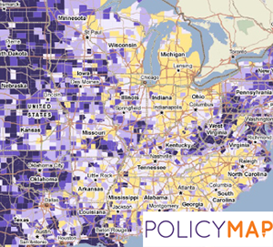 Researching with Policy Map: An online mapping tool