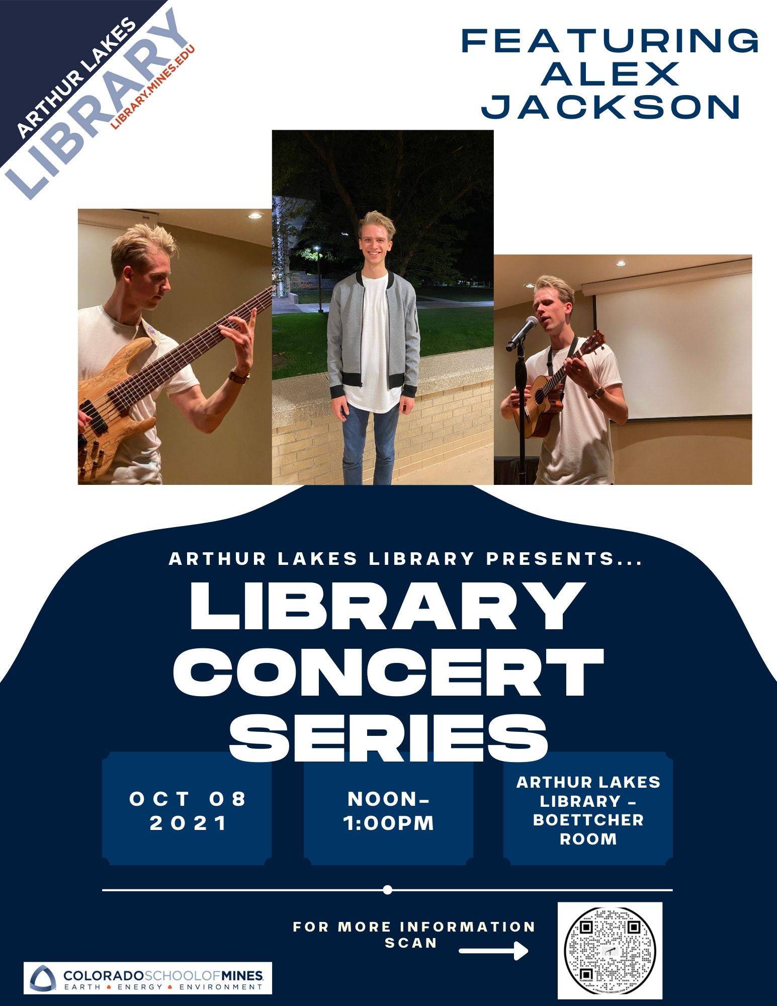 Library Concert Series featuring Alex Jackson