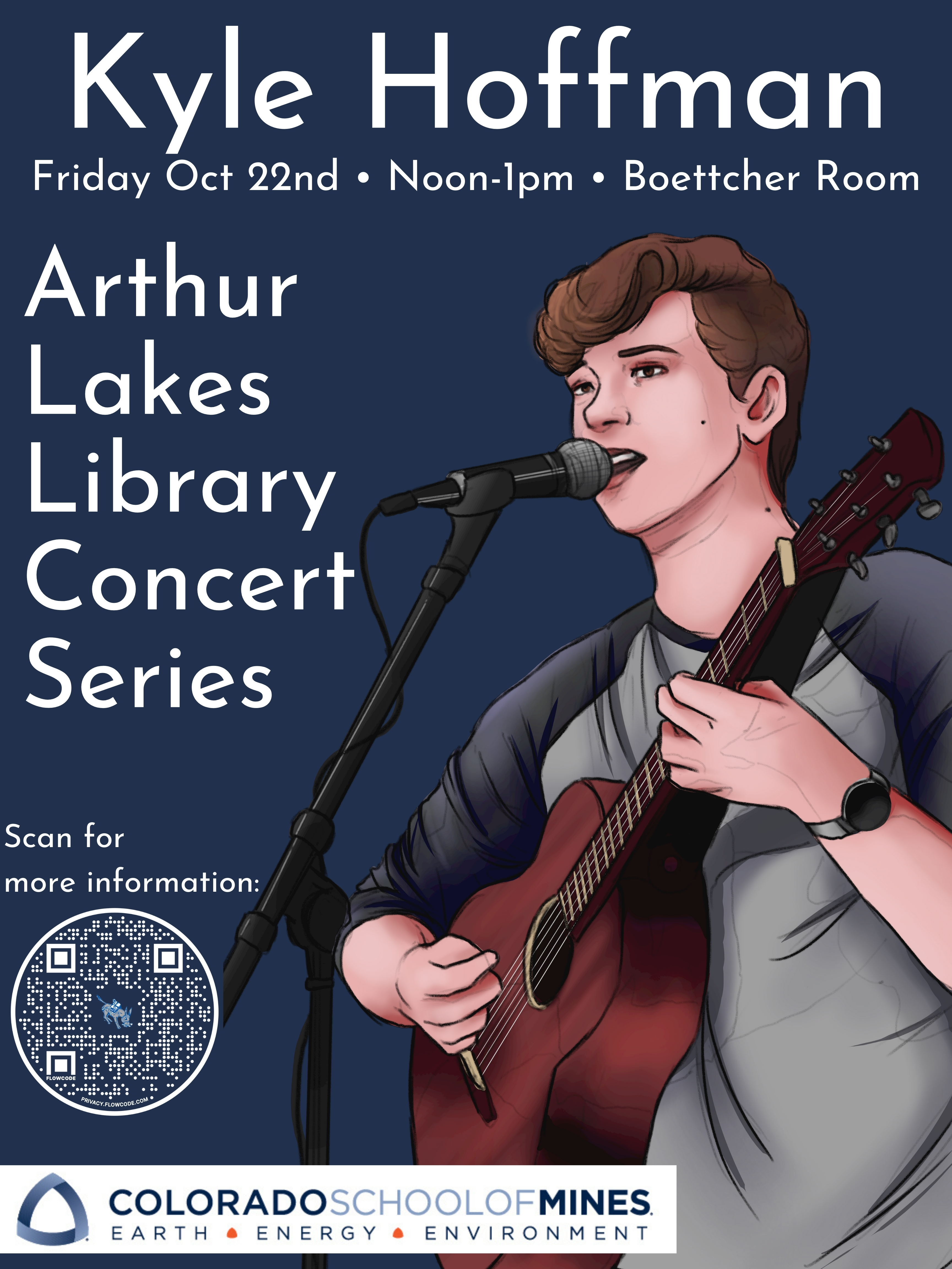 Library Concert Series featuring Kyle Hoffman