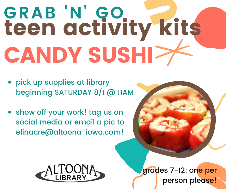 Candy Sushi: Activity Kit Grab 'n' Go