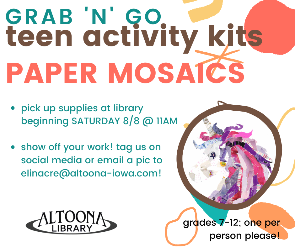 Paper Mosaics: Activity Kit Grab 'n' Go