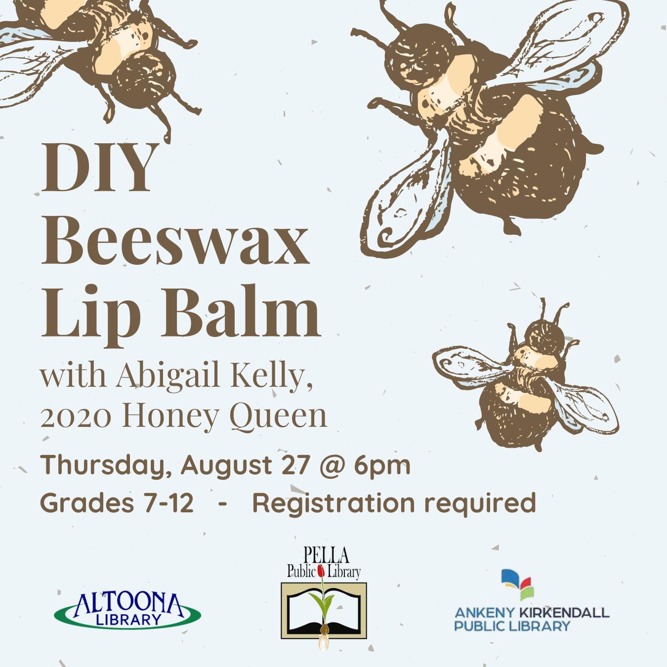 DIY Beeswax Lip Balm (Activity Kit)
