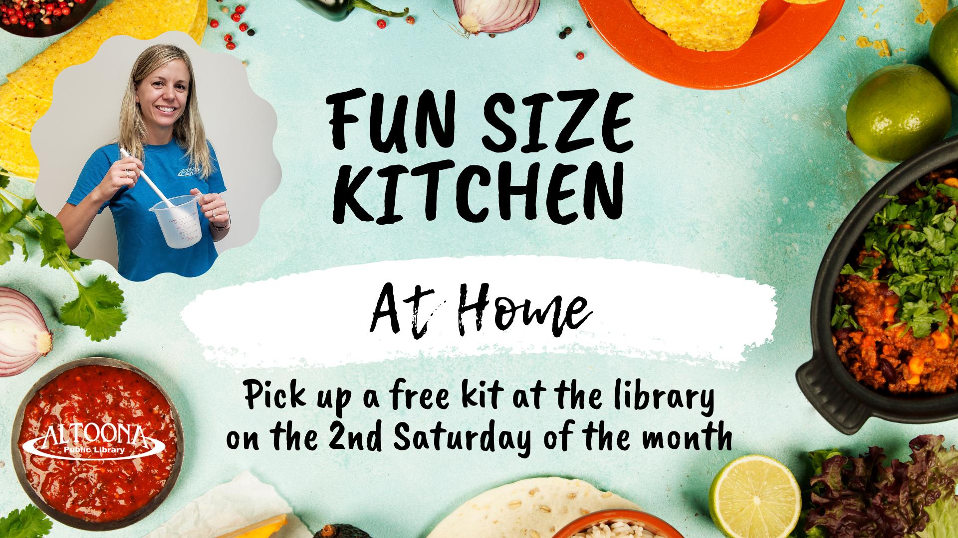 Fun Size Kitchen To-Go (Activity Kit)
