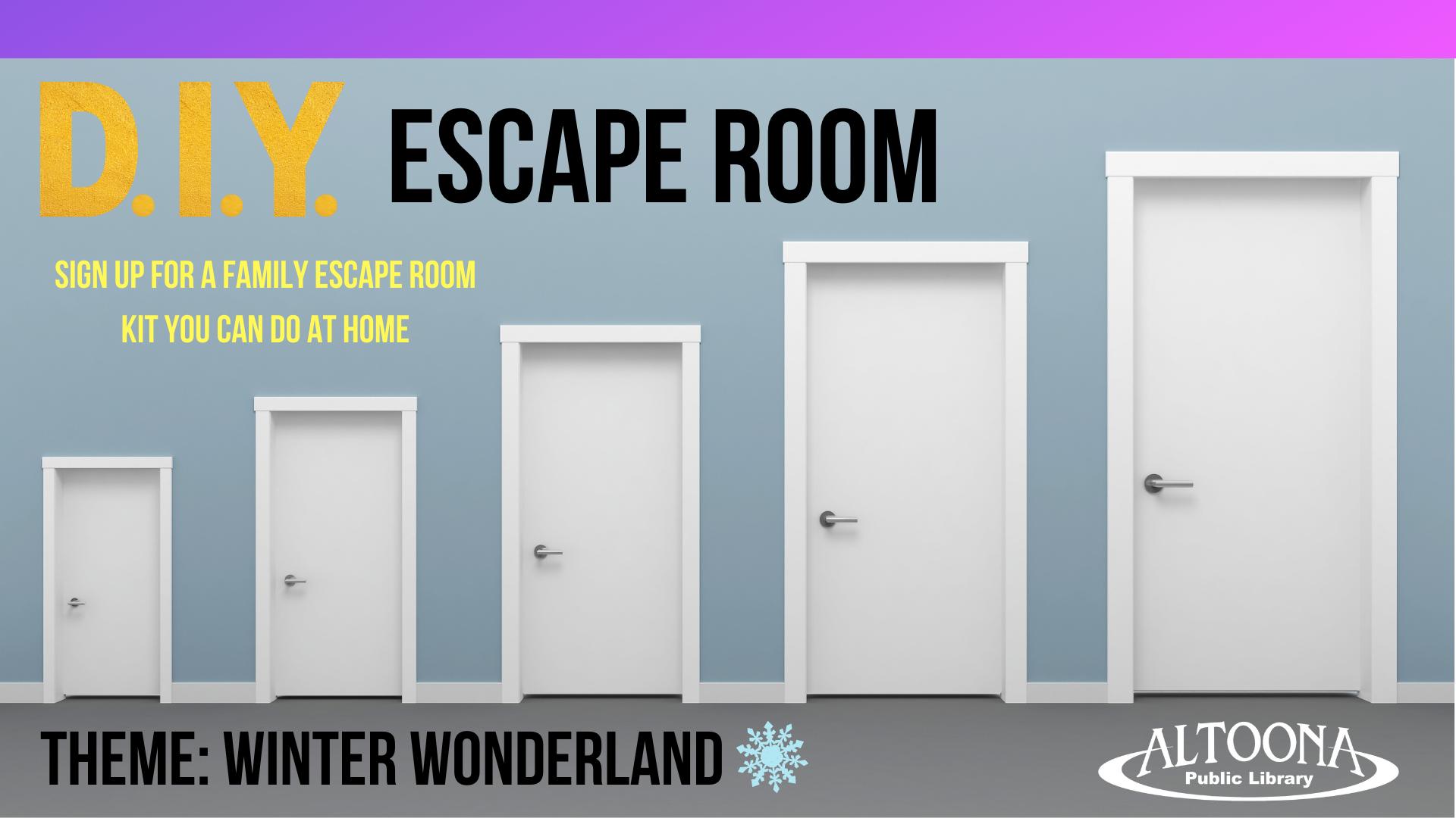 DIY Escape Room (Activity Kit)