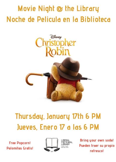 Movie Night: Christopher Robin