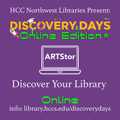 Discover Your Library Online: ARTstor