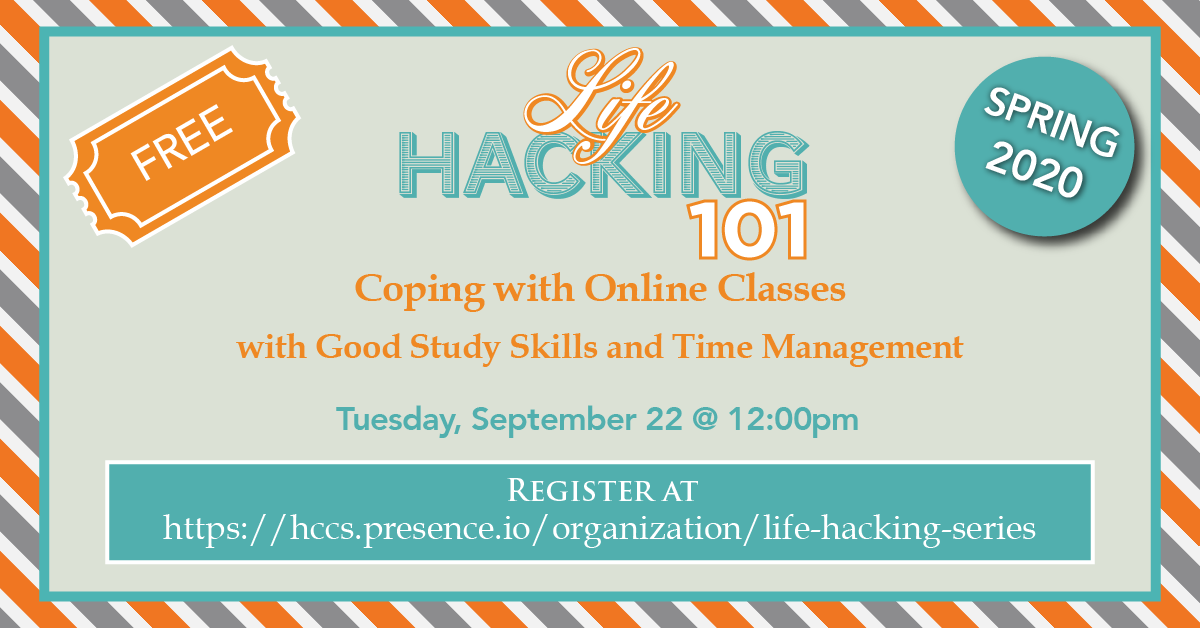 Life Hacking 101: Coping with Online Classes