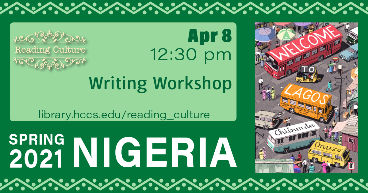 Reading Culture: Writing Workshop