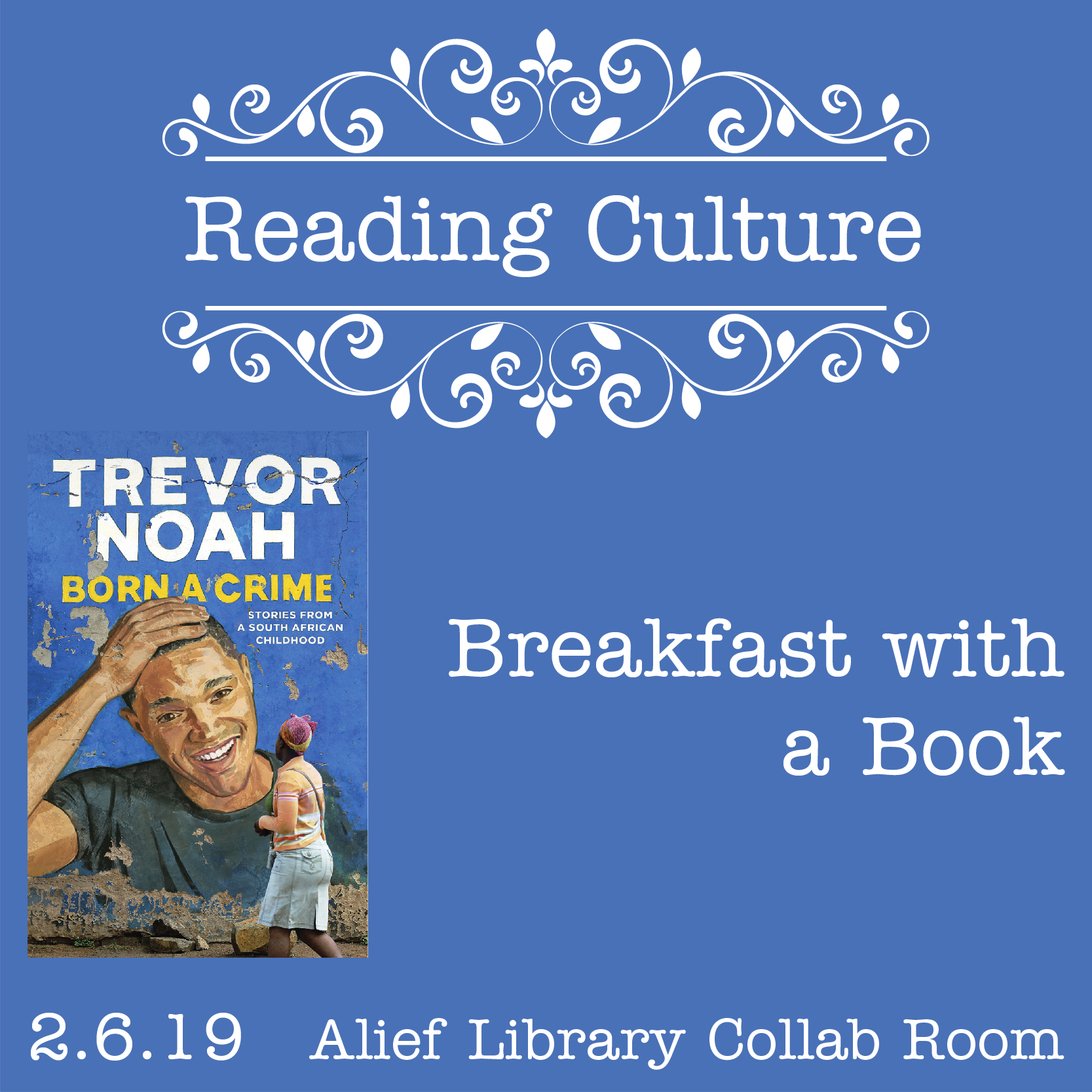 [AH] Reading Culture: Breakfast with a Book