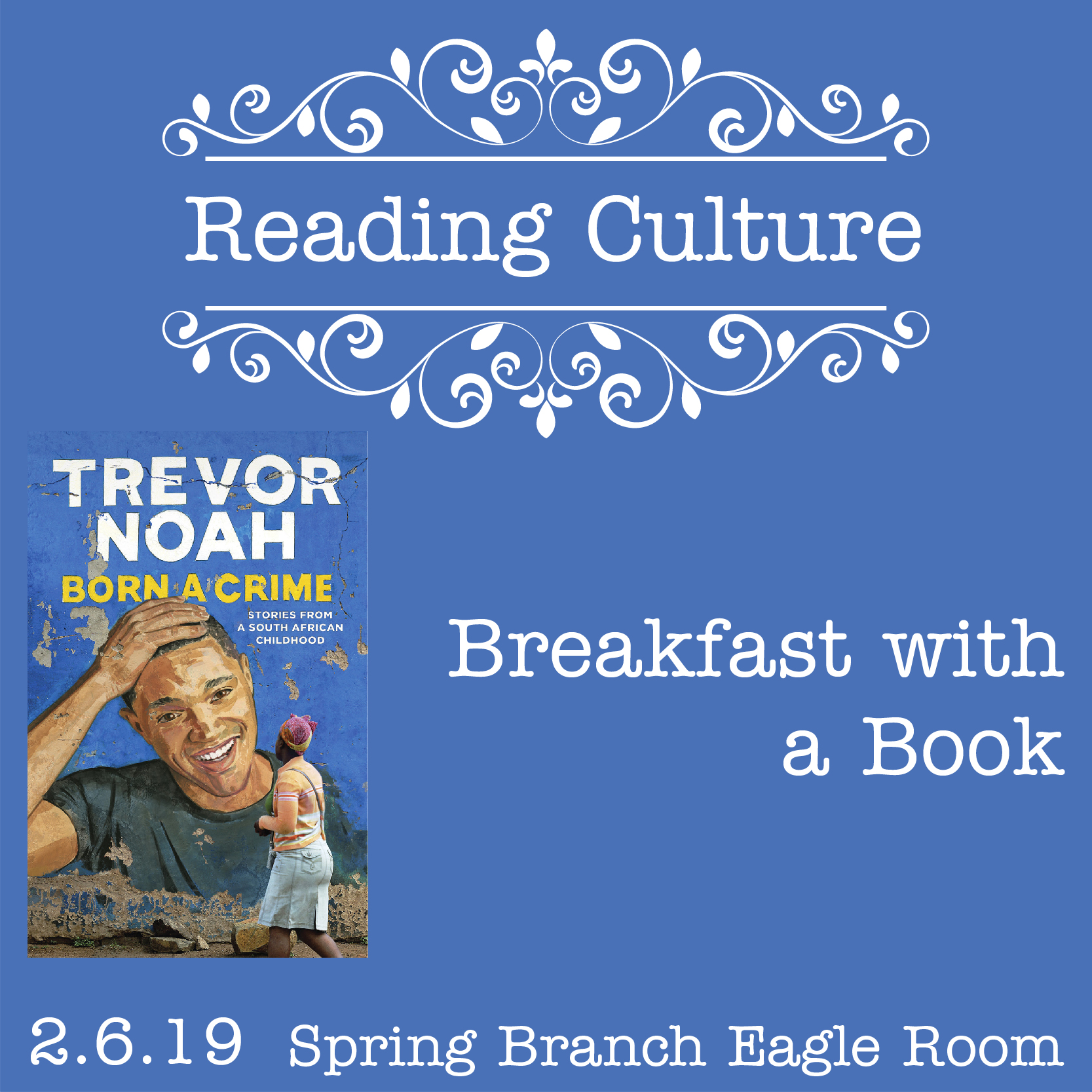 [SB] Reading Culture: Breakfast with a Book