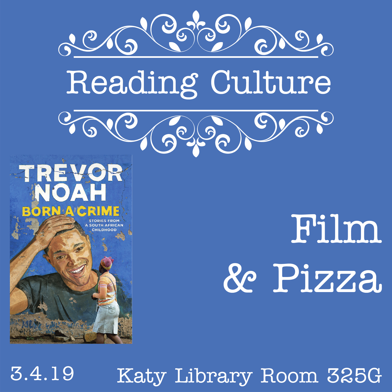 [KT] Reading Culture: Film & Pizza with Professor Gallego