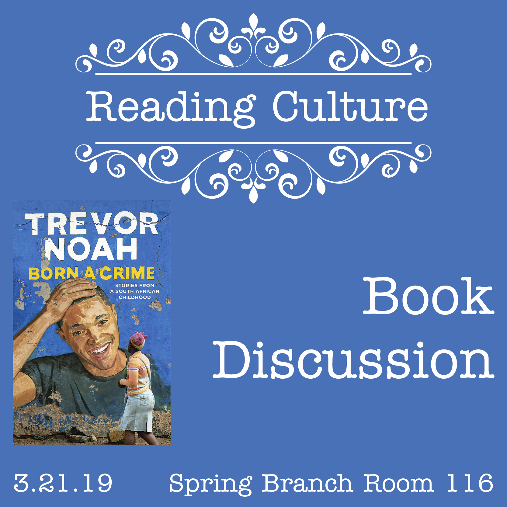 [SB] Reading Culture Book Discussion