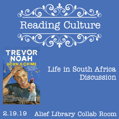 [AH] Reading Culture: Life in South Africa