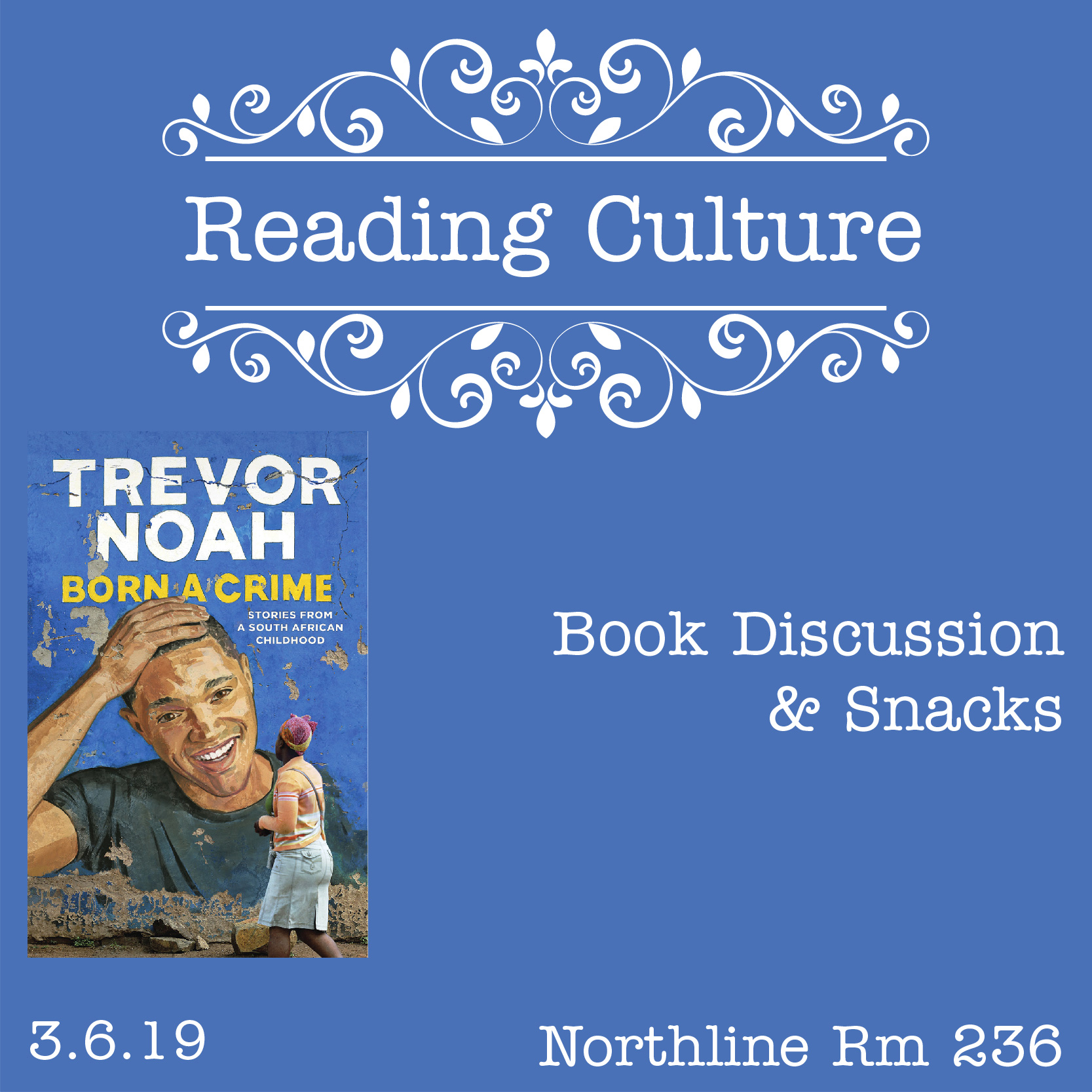 [NL] Reading Culture: Book Discussion & Snacks