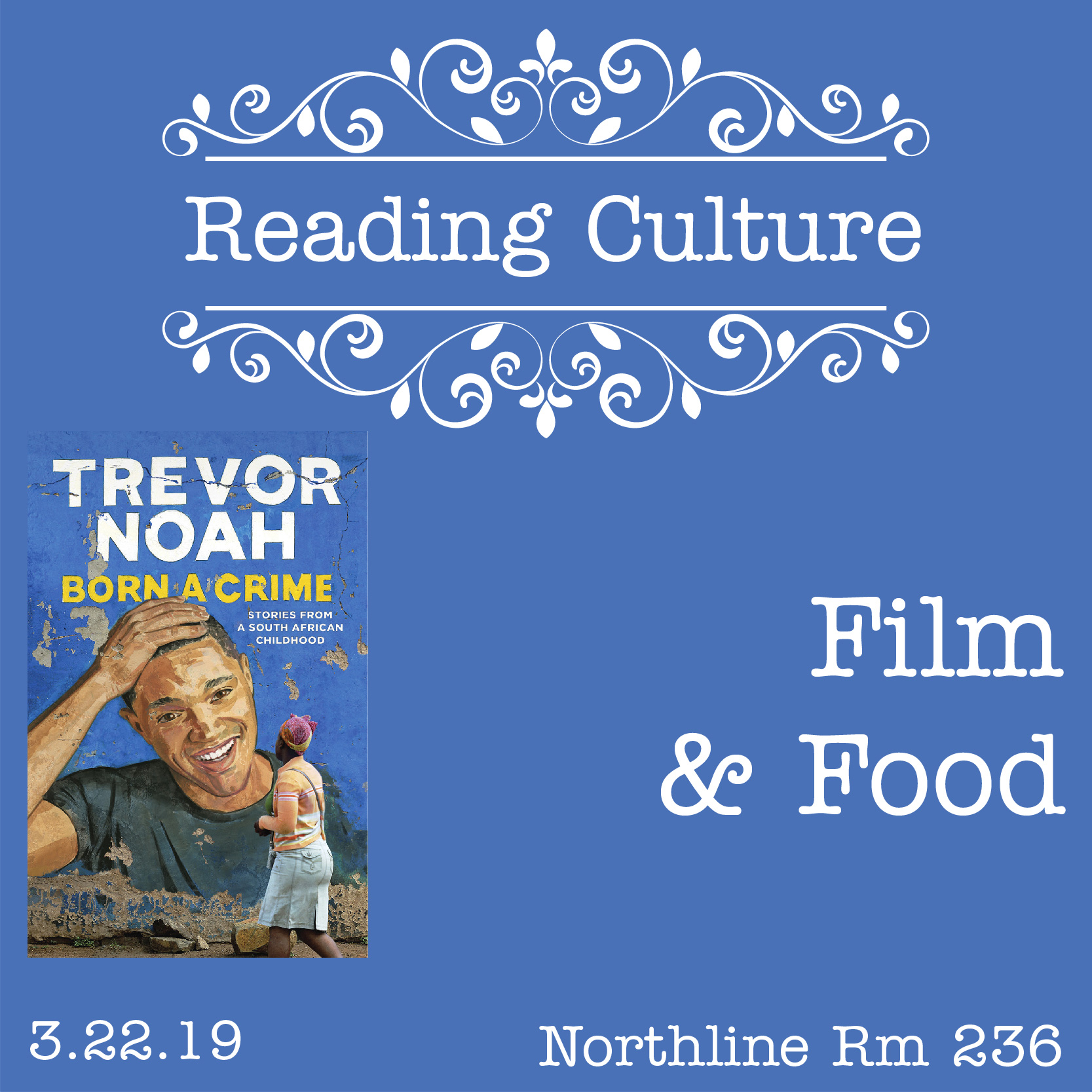 [NL] Reading Culture: Film & Food Night