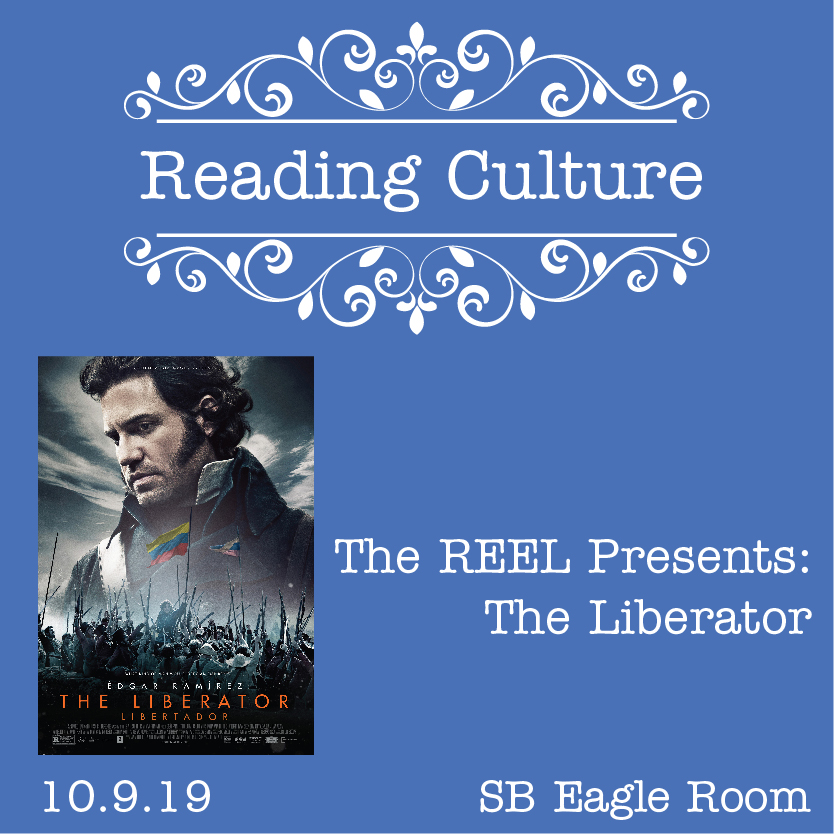 "Reading Culture: The Reel Shows ""The Liberator"" @ Spring Branch"