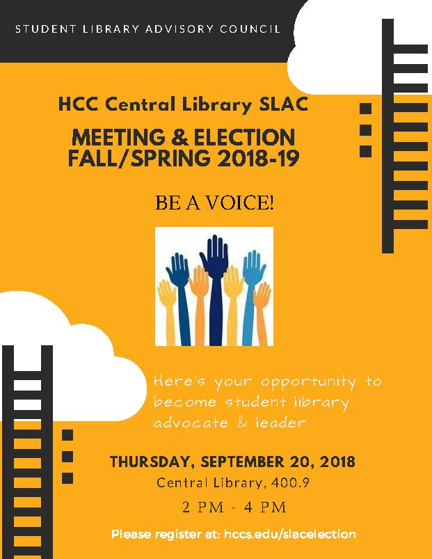 Student Library Advisory Council - Meeting & Election