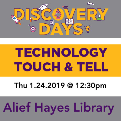 Discovery Days - Technology Touch & Tell
