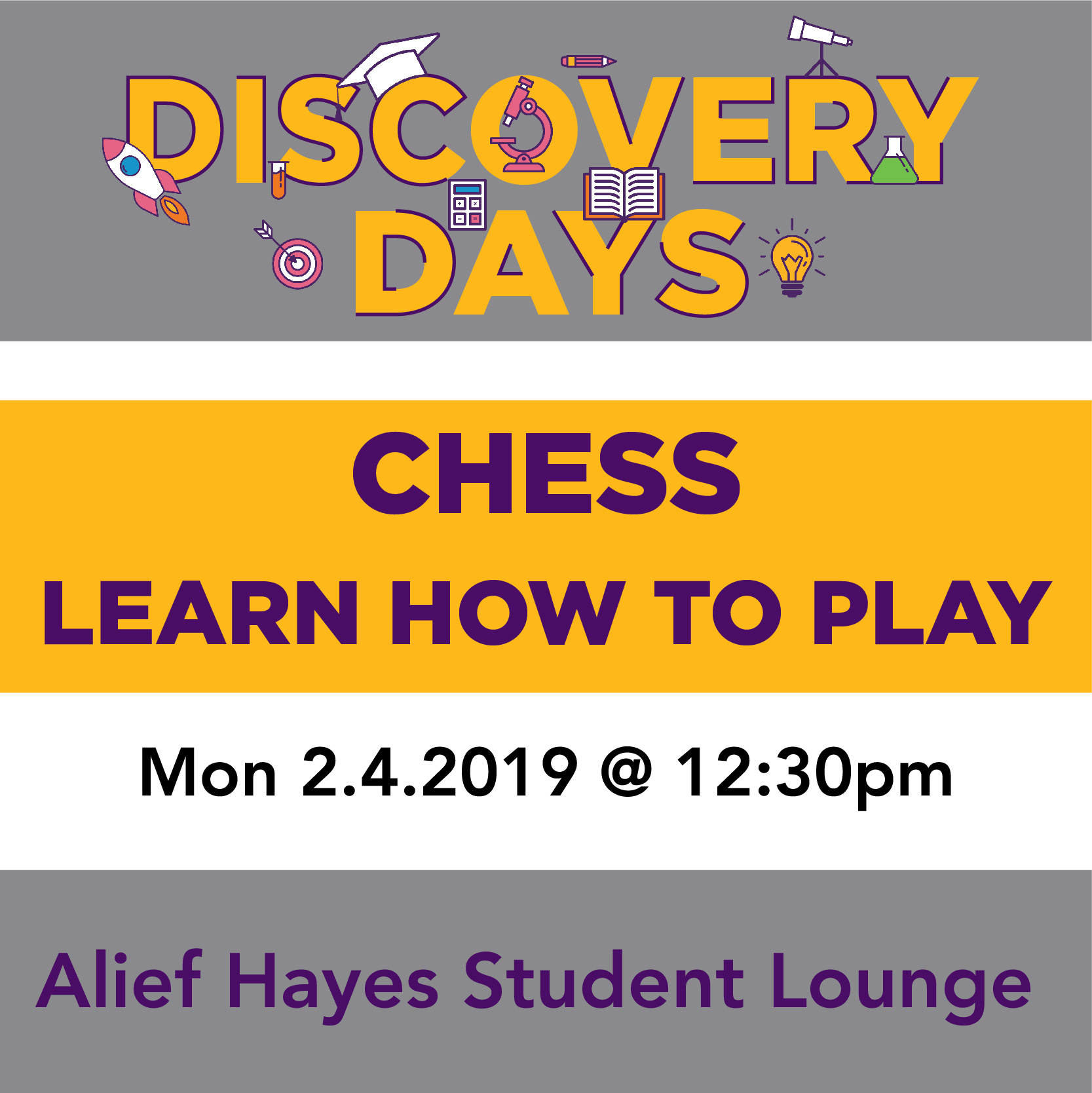 Discovery Days - Chess: Learn How to Play