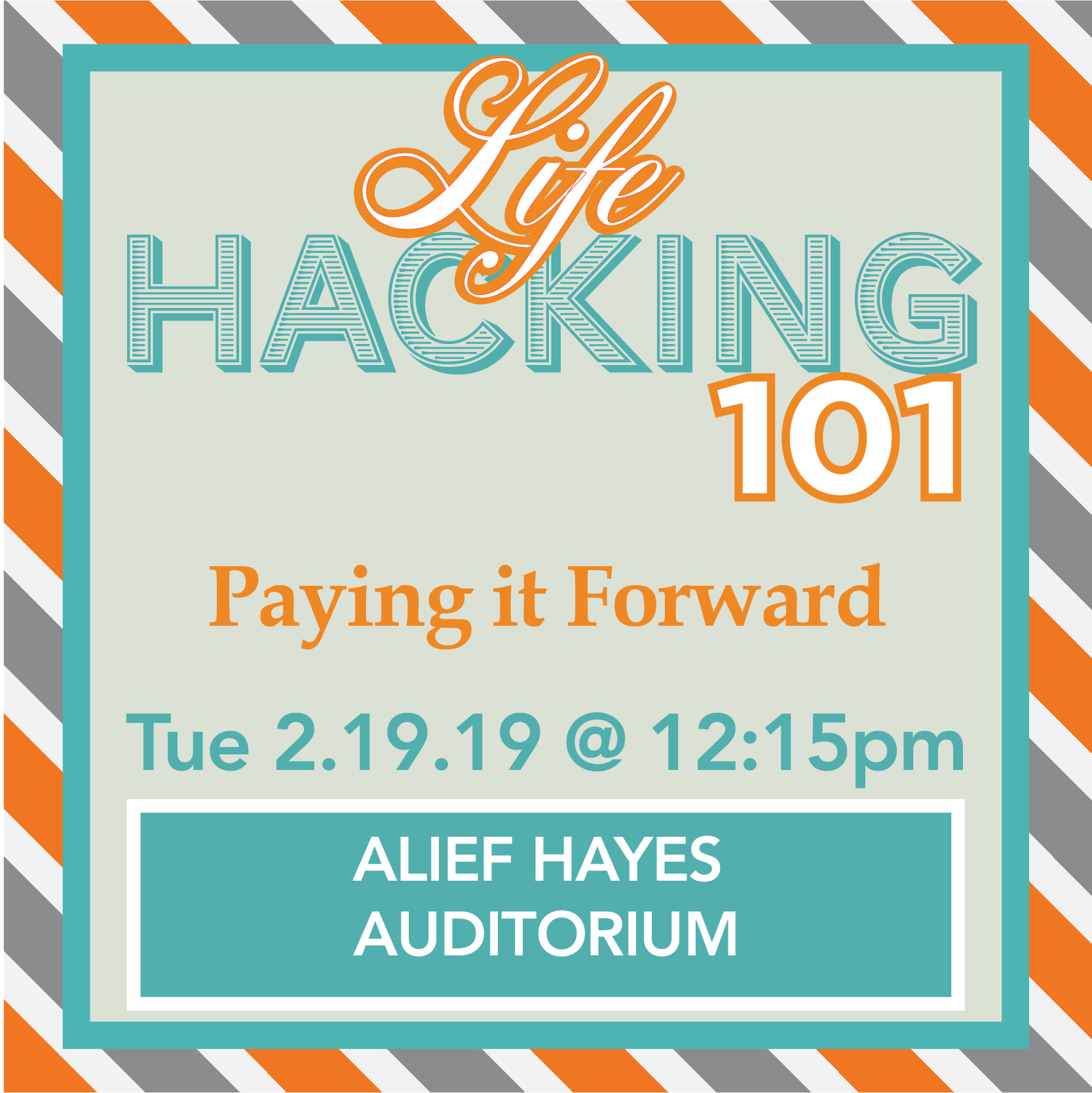 [AH] Lifehacking 101: Paying it Forward